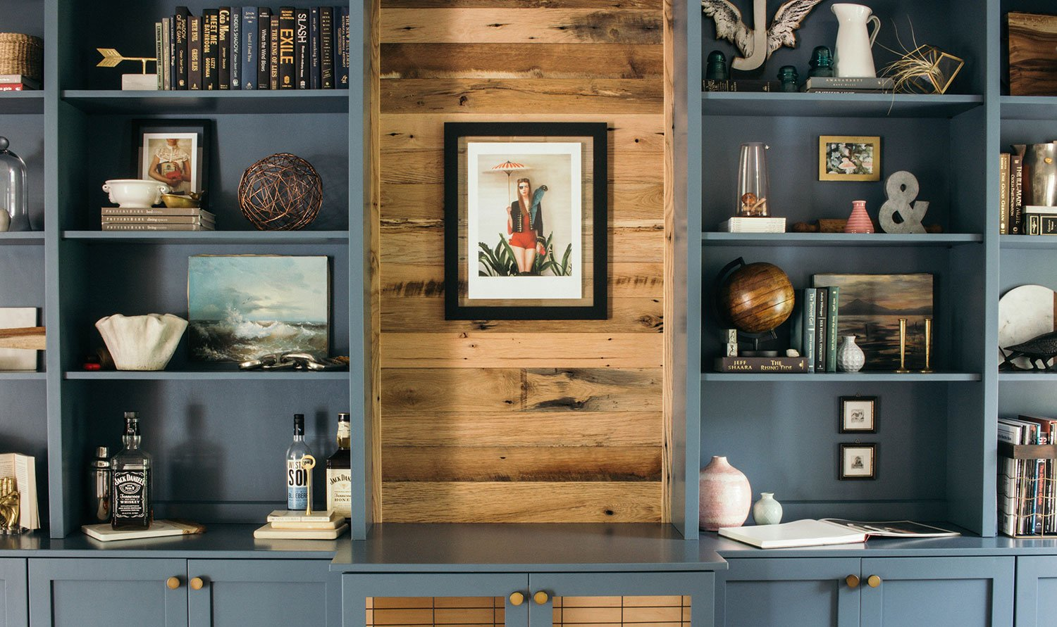 Styling Bookshelves, Open Shelves, and Built-Ins: A How-To Guide | Bloom in the Black