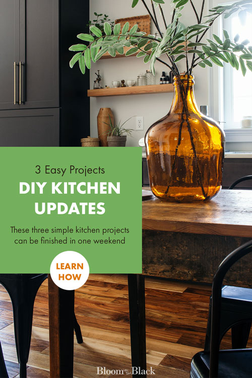 You don't need tens of thousands of dollars to update your kitchen. These 3 DIY projects are affordable and easily completed in a weekend. Get ideas to do a mini-renovation on your kitchen for cheap in this straightforward post!