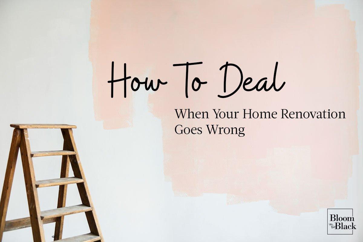 Home renovation problems