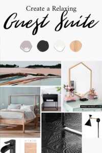 Design Plan and Mood Board for the Guest Room