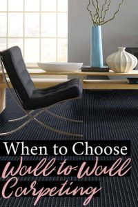 Is Wall-to-Wall Carpet The Right Choice? Ever??