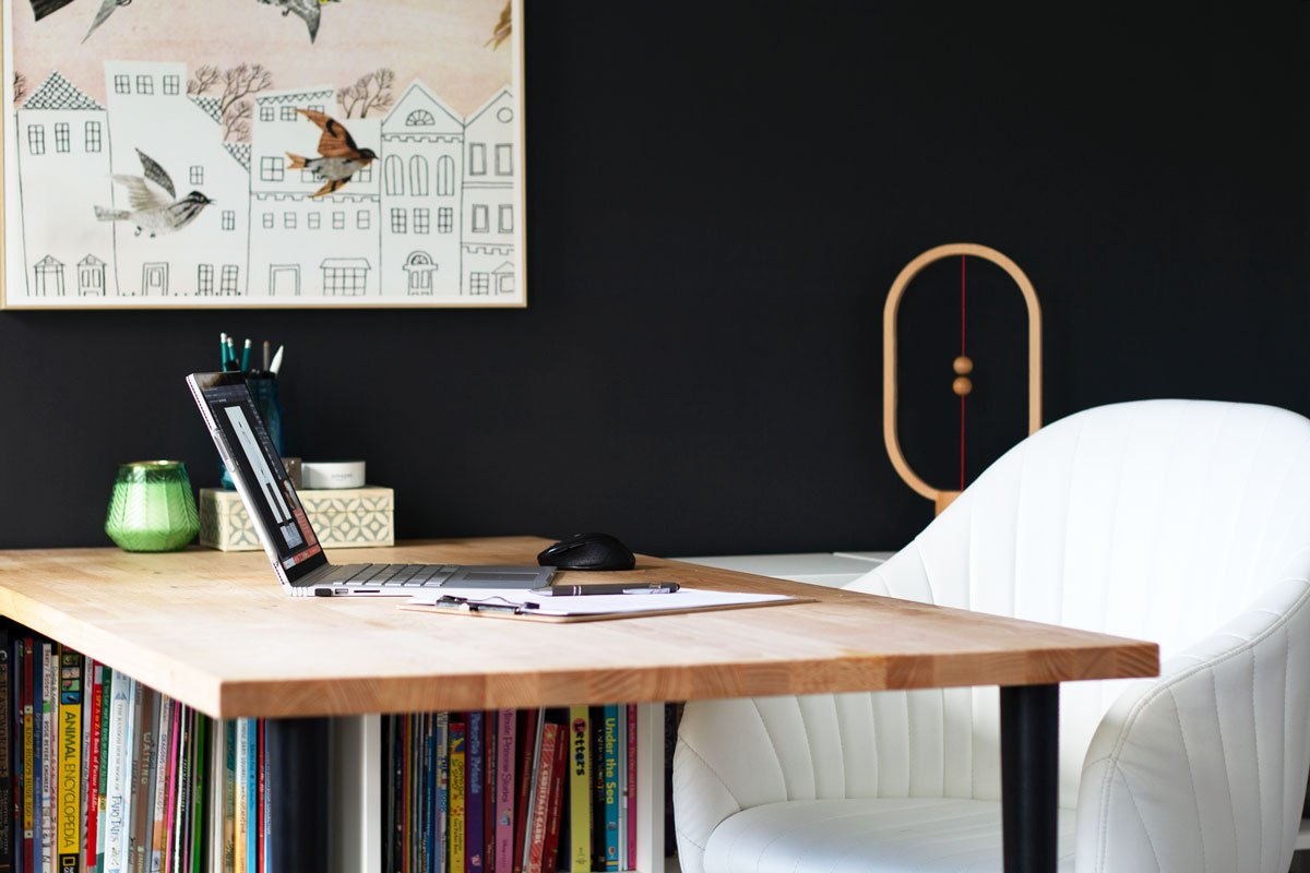 Desk chairs are a crucial part of the home office