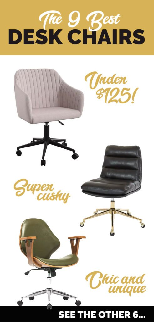 Super Desk Chair Round Up For Your Home Office Bloom In The Black Pabps2019 Chair Design Images Pabps2019Com