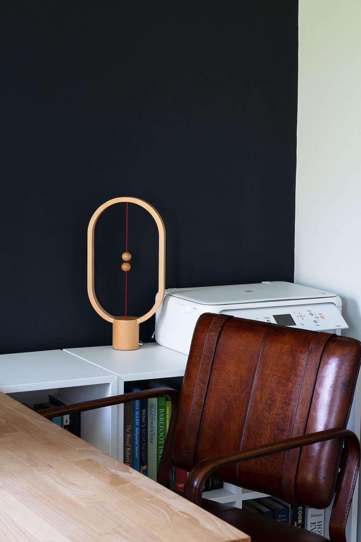 Graphic Home Office: One Room Challenge. Task lamp by Allocacoc