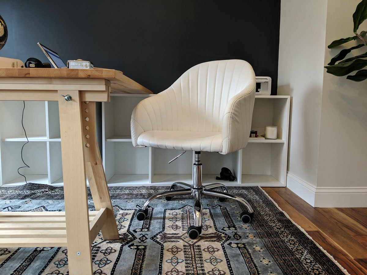 One Room Challenge Spring 2019 Week 5: Desk Chair