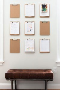 How to Make a Clipboard Wall Plus My Life-Changing Organization System