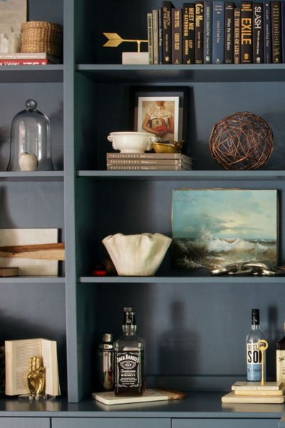 Styling Bookshelves in 5 Simple Steps
