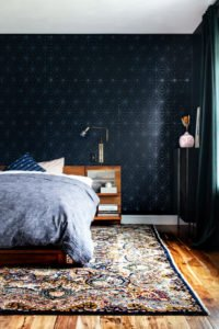 A Dark and Moody Master Bedroom Design: Before and After