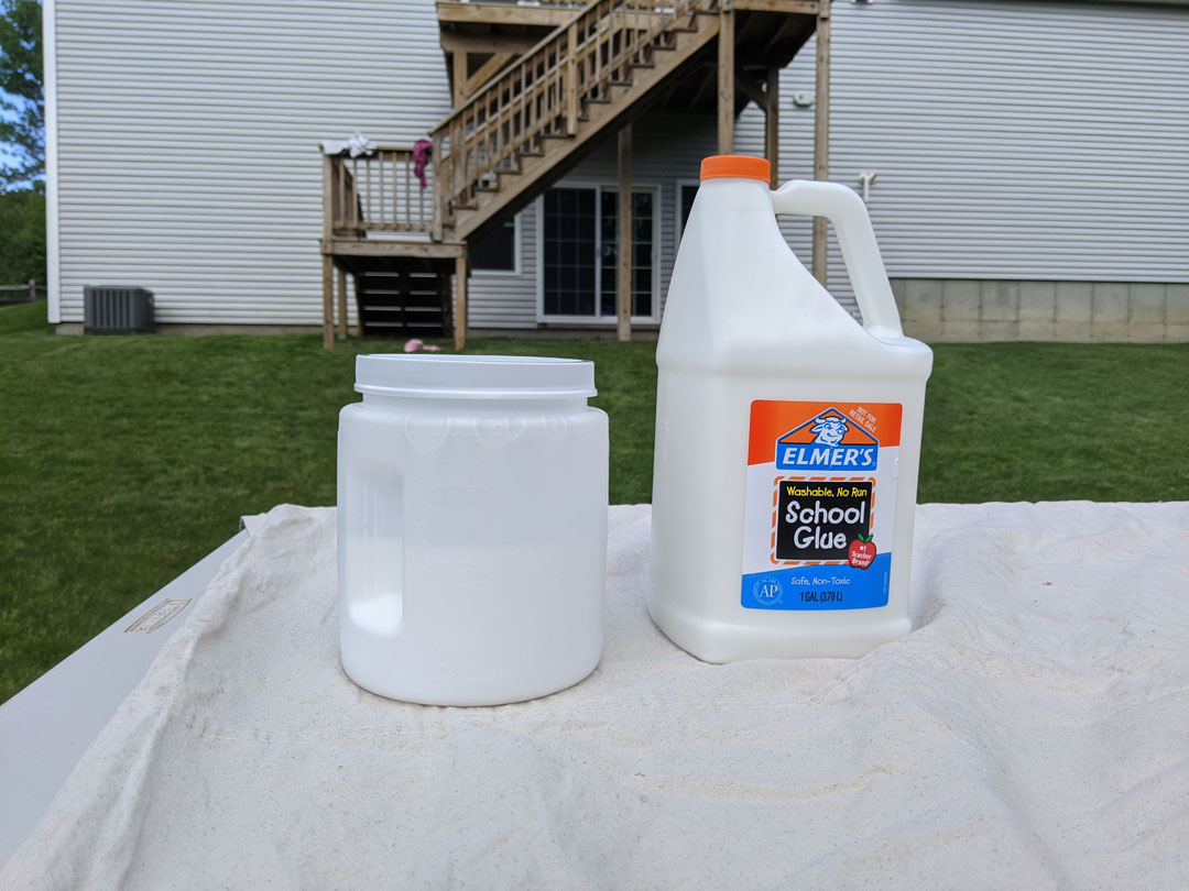 Mix glue