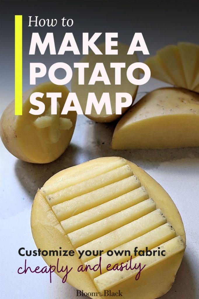 How to make a potato stamp