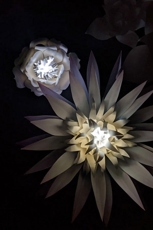 How to Make a DIY Paper Flower Lantern