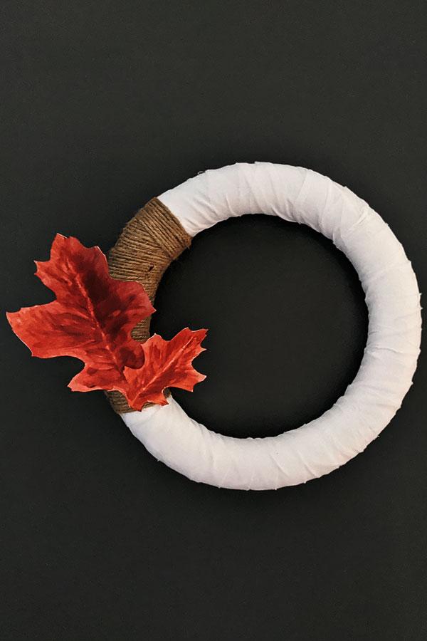 How to Make a Modern Fall Wreath