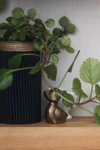DIY Fluted Wood Planter for Under $2