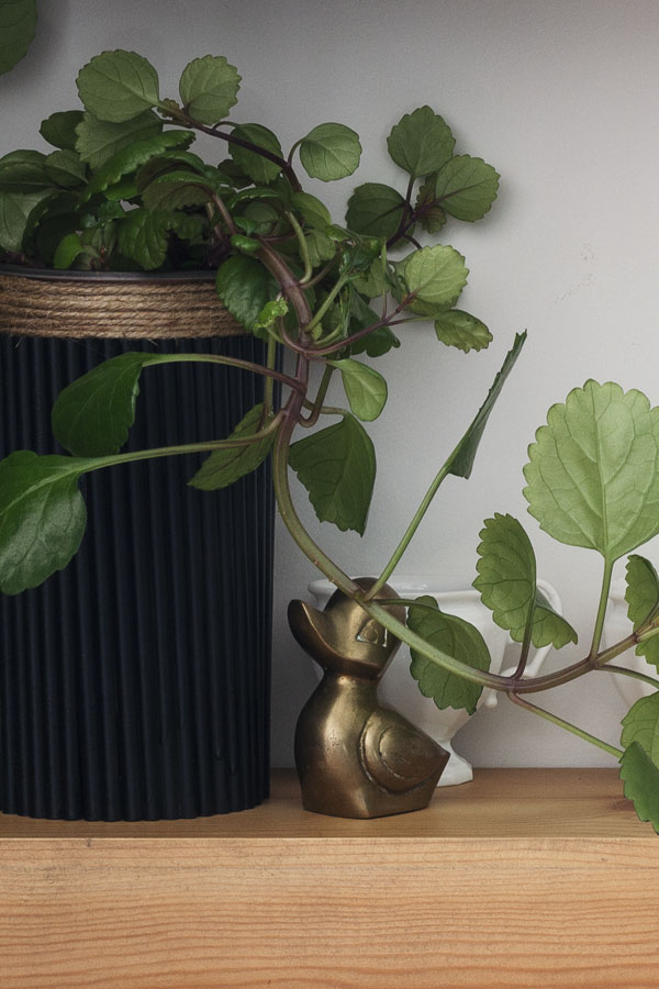 How to Make a Fluted Wood Planter (for Under $2)