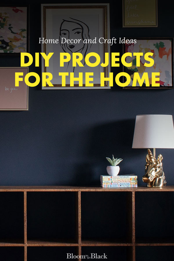 Get a ideas to DIY a home you love from Bloom in the Black. New content added every week -- high end looks on a budget you can afford. Learn to make upcycled decor, get step-by-step tutorials on high-end home upgrades, and be inspired by quick weekend crafts.