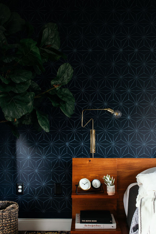 How to stencil an accent wall