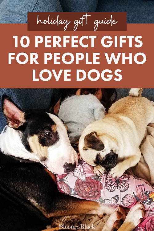 Need great gift ideas for the dog owners in your life? Here are the 10 best thoughtful gifts for dog parents. The gift guide you need for Christmas!