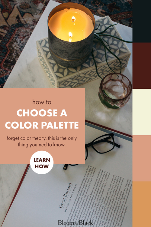 Forget color theory. This is the easiest and only way you ever need to choose colors for your home. Create a color palette for any room with this easy hack that takes less than 5 minutes.