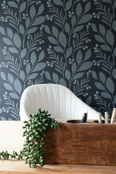 Create a Home Office Accent Wall to Uplevel Your Zoom Calls (Budget-Friendly)