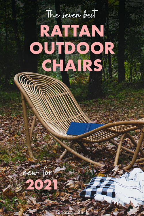 Here are my top 7 picks for the best rattan outdoor chairs. I've included sunloungers, accent chairs, lounge chairs, and dining chairs. These pieces will be the perfect inspiration for creating an outdoor room, patio, or space to enjoy.