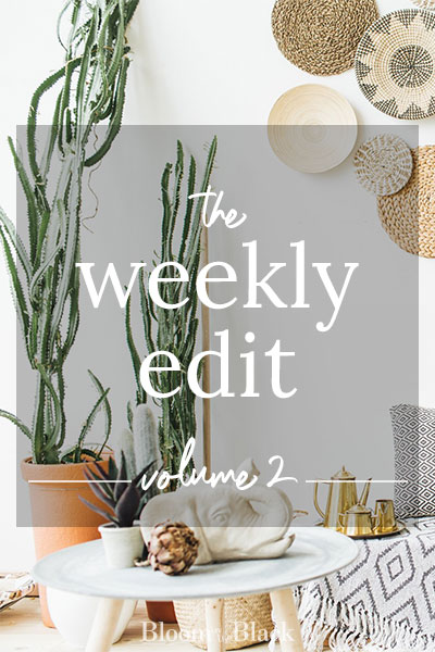 The Weekly Edit: Volume 2